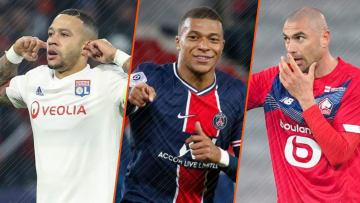 Memphis Depay, Kylian Mbappé et Burak Yilmaz.