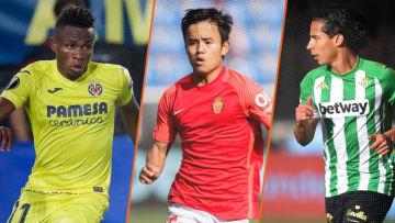 Chuwueze, Kubo et Lainez seront à surveiller cette saison en Liga