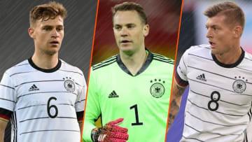L'Allemagne fait toujours figure de candidat au sacre final à l'Euro 2020