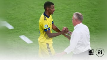Alexander Isak is admired by Liverpool among other clubs