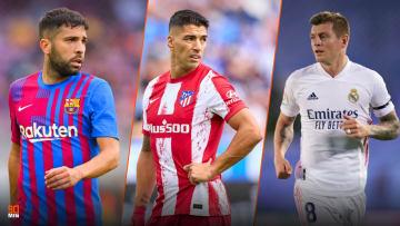Jordi ALba, Suarez et Kroos parmi les meilleurs joueurs de la Liga.