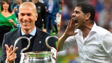 Zinédine Zidane a pu compter sur un soutien de poids.