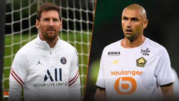 Lionel Messi et Burak Yilmaz.