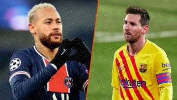 Neymar et Messi vont se retrouver au mois de février