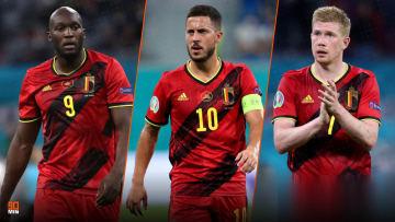 Romelu Lukaku, Eden Hazard et Kevin De Bruyne, trois légendes belges.
