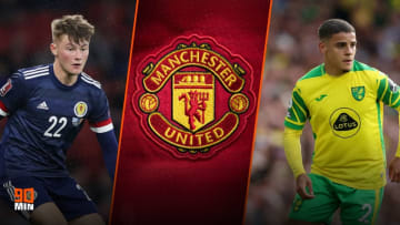 Rangers' Nathan Patterson and Norwich's Max Aarons are on Man Utd's shortlist