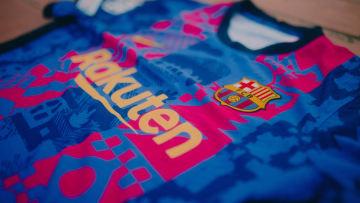 Le FC Barcelone arborera un maillot spécial pour la Ligue des Champions.