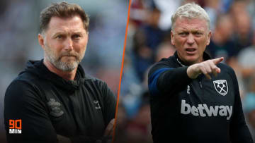 Southampton play host to West Ham at St Mary's