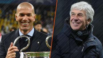 Gian Piero Gasperini admire Zinédine Zidane.