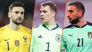 Die besten Torhüter der EM 2020