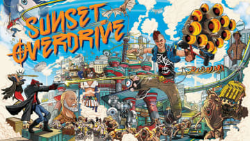 Sony has registered a trademark for Sunset Overdrive, an Xbox Exclusive developed by Insomniac Games
