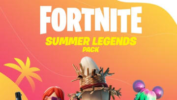 The Fortnite Summer Legends pack includes three skins.