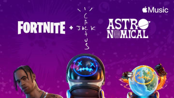 """Last night, Travis Scott and Fortnite hosted his """"Astronomical"""" virtual performance and it set a new record for the game."""
