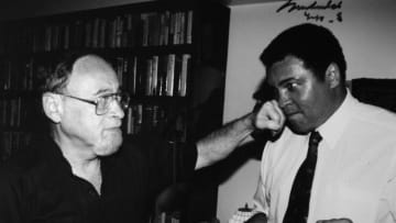 Jerry Izenberg and Muhammad Ali