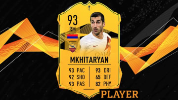 Henrikh Mkhitaryan FIFA 20 UEL Road to the Final SBC is now available for a limited time.