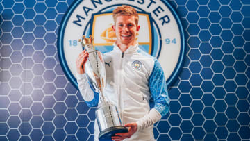 De Bruyne has won the award for the second year running