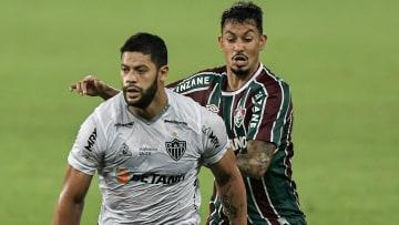 Hulk marcou o gol que garantiu a vitória ao Galo no Rio de Janeiro