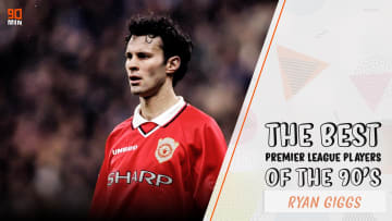 Manchester United's undeniable left wing genius, Ryan Giggs