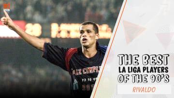 Rivaldo inspired Louis van Gaal's Barcelona