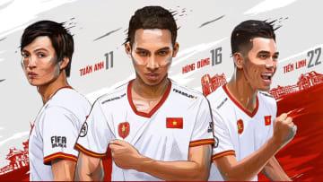 3 cầu thủ Việt Nam mới ra mắt FO4
