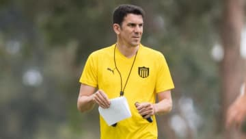 Entrenamiento de Peñarol - Mauricio Larriera