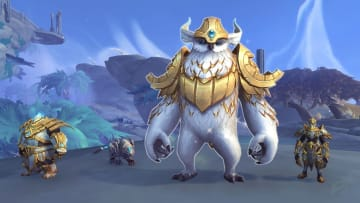Zolla and his three Mechanical pets in Bastion