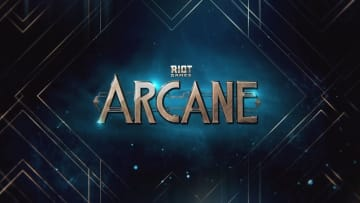 Title Card for Netflix's new original League of Legends based animation, Arcane