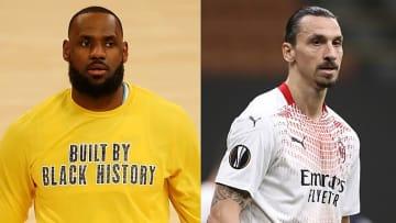 LeBron James respondeu à crítica de Ibrahimovic.