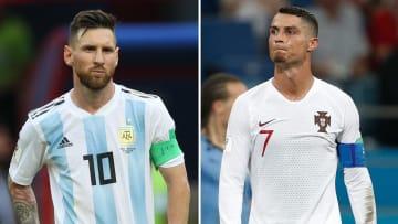 Messi und CR7 sind wieder einmal die besten Spieler im Team