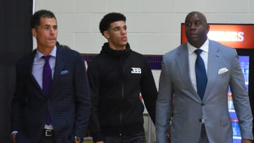 Lonzo Ball in His Laker Days