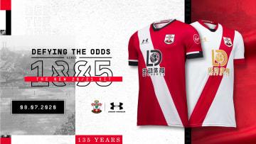 Southampton 2020/2021 Home and Third Kit