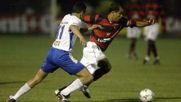 O Flamengo perdeu a Copa do Brasil de 2004 para o Santo André.