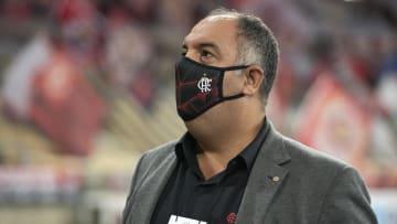 VP do Flamengo, Marcos Braz faz questionamento em postagem do Prefeito do Rio.