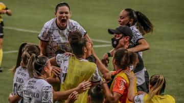 Corinthians venceu o Palmeiras por 1 a 0