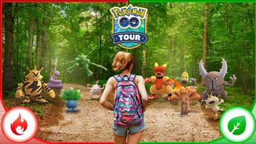 What Green Pokémon can you get in Pokémon GO Tour Kanto?