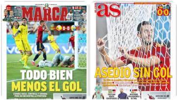 España: las portadas de los diarios deportivos
