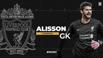 Liverpool goalkeeper Alisson is world class