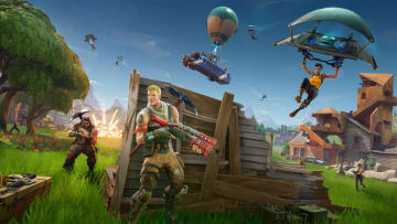 Where to destroy apple and tomato boxes in Fortnite.