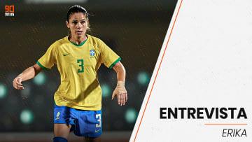 Erika disputará sua quarta edição de Jogos Olímpicos