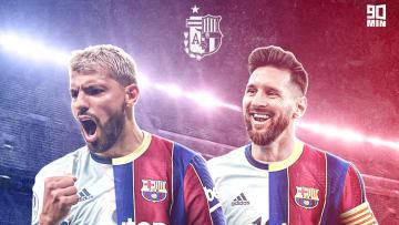 Sergio Agüero pourrait rejoindre son compatriote Messi au Barça cet été