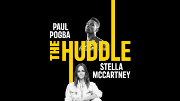adidas present The Huddle: with Paul Pogba and Stella McCartney