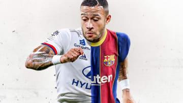 Memphis Depay pourrait bien rejoindre le FC Barcelone cet été.