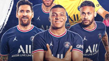 Lionel, Messi, Kylian Mbappé et Neymar.