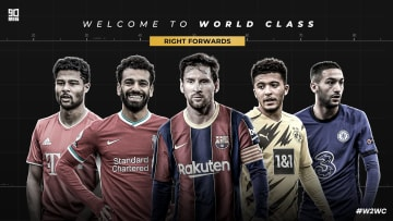 The five world class right forwards to feature in 90min's Welcome to World Class series | #W2WC