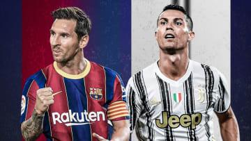 Lionel Messi et Cristiano Ronaldo, toujours au sommet.
