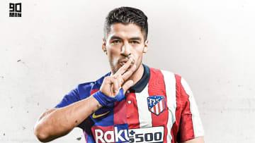 Luis Suarez a joué au FC Barcelone et à l'Atletico de Madrid.
