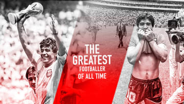 Diego Maradona, the greatest footballer of all time