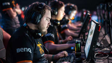 Flusha competes at DreamHack Summer 2015.