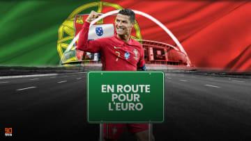 Cristiano Ronaldo et Ruben Dias sous les couleurs de la Seleção.