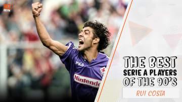 Rui Costa was a flamboyant creative midfielder